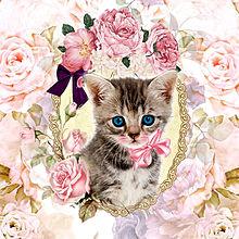 猫の日🐈️花とヨコミミ様 プリ画像
