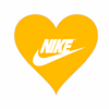 Nike ロゴ ハート プリ画像