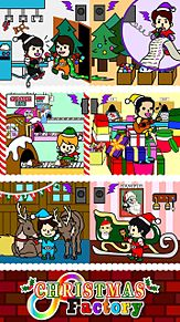 ∞Christmas Factory∞  iphone6用 プリ画像