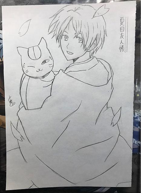 夏目友人帳(夏目貴志・ニャンコ先生)の画像 プリ画像