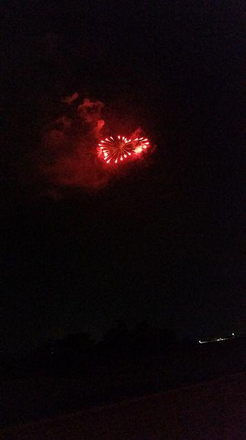 ハートの花火で願いを叶えるの画像(プリ画像)