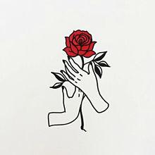 保 存 は い い ねの画像(おしゃれ イラスト 薔薇に関連した画像
