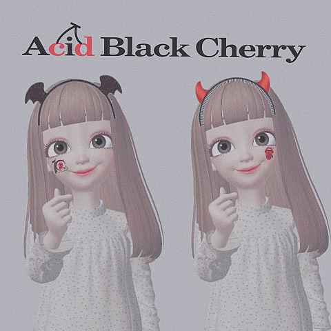 zepeto Acid Black Cherryの画像 プリ画像