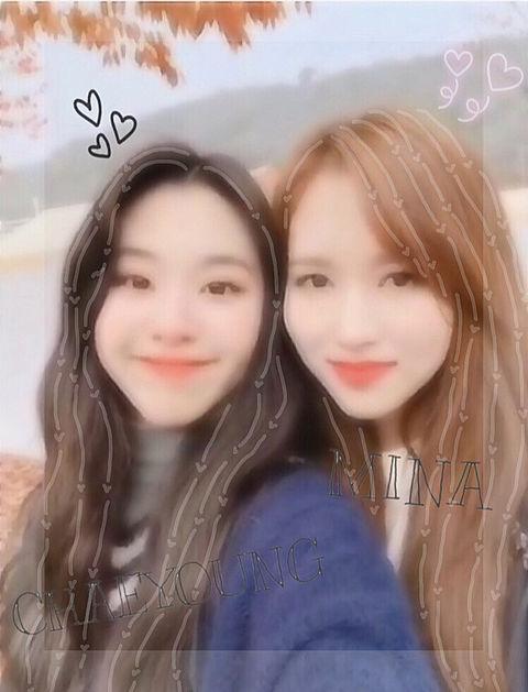 ミチェン!!! ミナ、チェヨン♡の画像(プリ画像)
