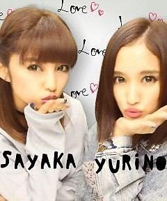 YURINO&SAYAKAの画像(プリ画像)