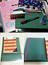 ノートカバーの作り方! プリ画像
