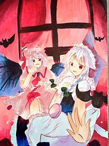 十六夜咲夜 レミリア・スカーレット レミ咲の画像(レミリア・スカーレットに関連した画像)