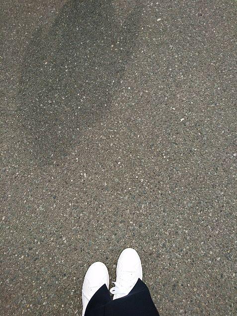 駐車場での撮影の画像(プリ画像)