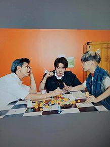 BTS RM&JIN&J-HOPEの画像(jinに関連した画像)