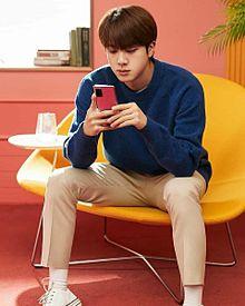 BTS JINの画像(チム/ジミン/パクジミンに関連した画像)