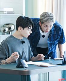 BTS JUNGKOOK&RM プリ画像
