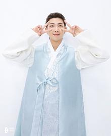 BTS RM プリ画像