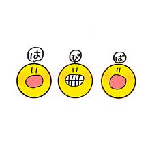 ニコ ちゃん マーク イラスト