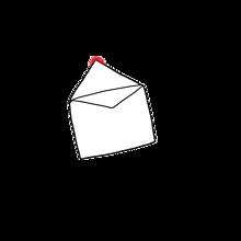 手紙 開いたVer.の画像(プリ画像)