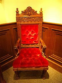 北野異人館サターンの椅子の画像(パワースポットに関連した画像)