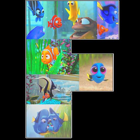 """F"" Finding Nemo / Doryの画像 プリ画像"