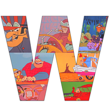 """W"" Wacky Races プリ画像"