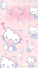 キティ ちゃん 無料 壁紙