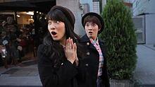 ブサイク姉妹の驚いた顔が興奮した プリ画像