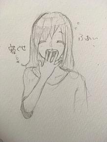 寝起きのアヤノの画像(プリ画像)