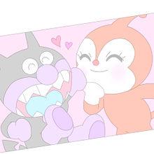 ♡ バイキンマン & ドキンちゃん ♡の画像(プリ画像)