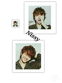 Nissy プリ画像