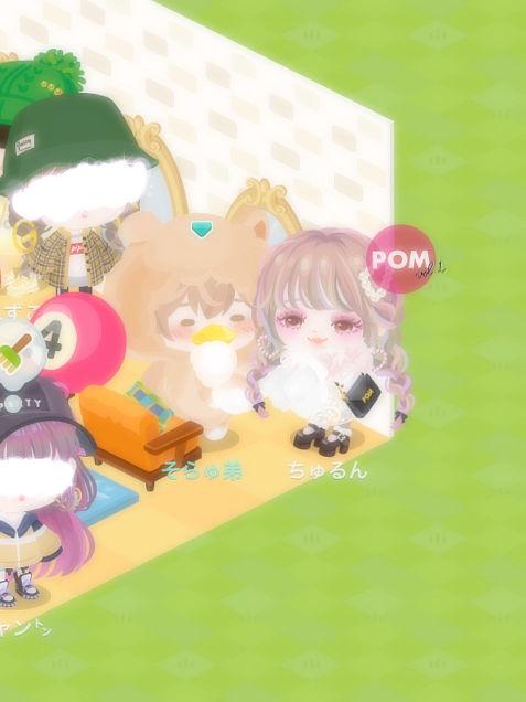 公式モデル「ちゅるん」さんとのツーショット《ピグパーティ》の画像(プリ画像)
