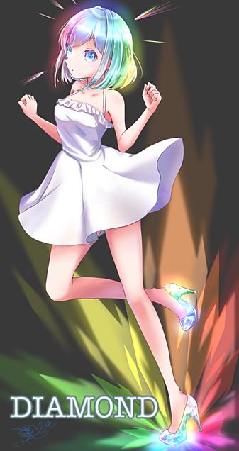 ダイヤモンド擬人化💎の画像(プリ画像)