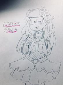 魔法少女トッティー🧙♀️描いてみた!!の画像(トッティに関連した画像)