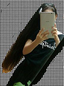 今の髪の長さ プリ画像