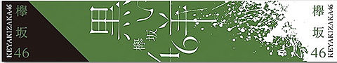 欅坂46 箱推しタオルの画像(プリ画像)
