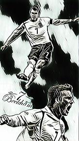 ベッカム スマホ壁紙の画像(マンチェスターユナイテッドに関連した画像)