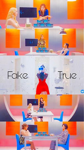 Fake&Trueの画像(プリ画像)