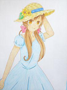 お題『麦わら帽子』の画像(あぱへに関連した画像)