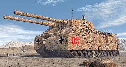 ドイツ 幻に終わった超重戦車。の画像(プリ画像)