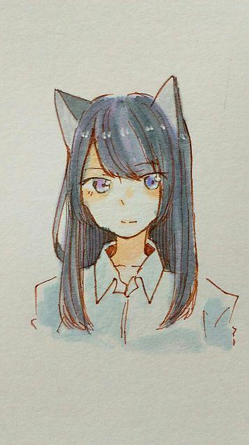黒猫ちゃんへの画像(プリ画像)