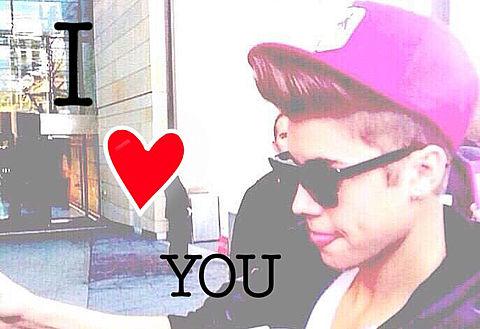 Justin Bieber LOVEの画像(プリ画像)