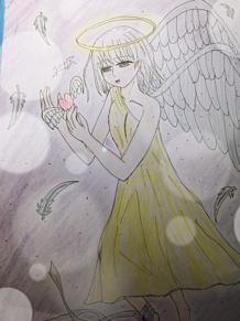 天使の画像(イラストに関連した画像)