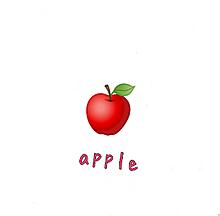 りんごの画像(果物に関連した画像)