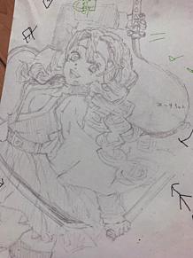 一発描きの甘露寺さん(*´∇`*)の画像(模写に関連した画像)
