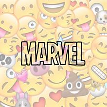 MARVEL顔文字の画像(顔文字に関連した画像)