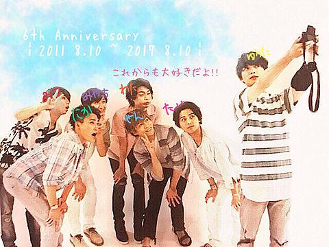 ~6th Anniversary~の画像 プリ画像