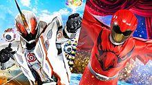 仮面ライダーゴースト&動物戦隊ジュウオウジャー プリ画像