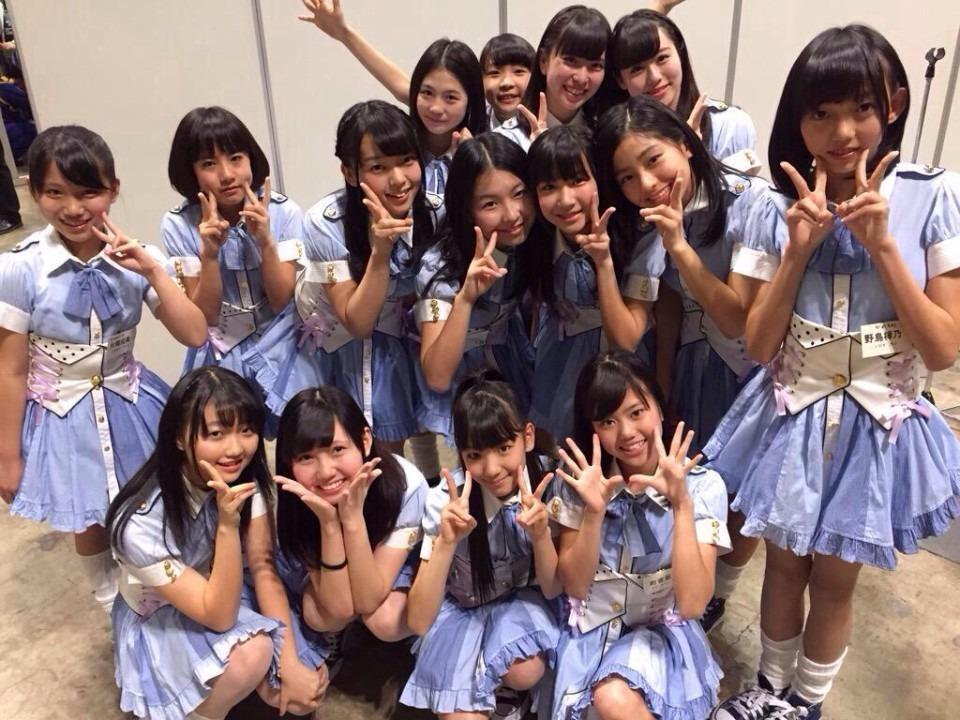 SKE48メンバーと野島樺乃