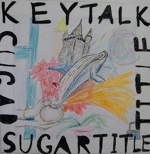 keytalk Sugar title 描いてみたの画像(プリ画像)