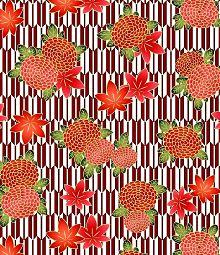 千代紙 和風 和柄 紅葉 モミジ 菊 菊花 素材 背景 壁紙の画像(和風に関連した画像)