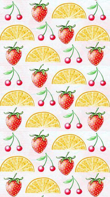 フルーツ 果物  柄 模様  パターンの画像 プリ画像