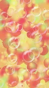 秋色  オーブ  シャボン玉  暖色系の画像(暖色に関連した画像)