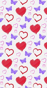 ハート柄  愛  心  バレンタインの画像(ハート柄に関連した画像)