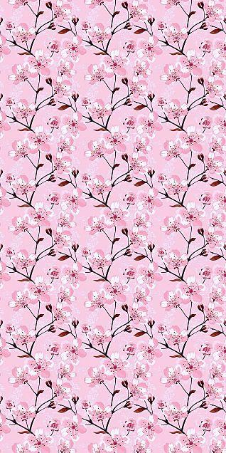 桜  桜の木  花柄  花模様の画像(プリ画像)